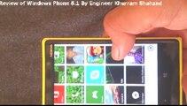 windows phone 8.1 Review Nokia Lumia 920 With windows 8.1