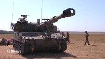 Les chars israéliens se massent à la frontière avec Gaza