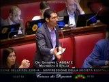 """Giuseppe L'Abbate (M5S): """"Equitalia? Continuate a difendere i grandi evasori"""" - MoVimento 5 Stelle"""