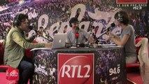 Interviews RTL2 : Gaëtan Roussel