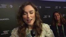 Begin Again INTERVIEW - Keira Knightley (2014) - Adam Levine, Keira Knightley Movie HD