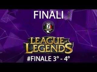 Finale 3°/4° posto del 3°Campionato Personal Gamer di League of Legends