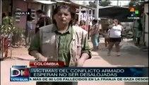 Colombia: víctimas discuten responsbilidad del Estado y grupos armados