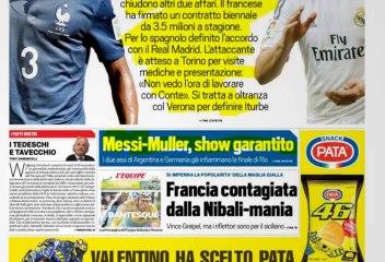 CALCIOINFO - Rassegna stampa 11-07-2014