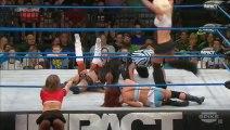 Gail Kim vs Angelina Love vs Madison Rayne vs Brittany - Knockouts Championship TNA 10/07/2014