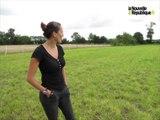 VIDEO. Sabrina Lepienne dresseuse de chevaux en liberté à Priaires