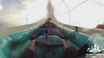 Le Verrück, le toboggan aquatique le plus haut du monde