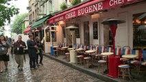 Paris: le mauvais temps entraîne une baisse du tourisme