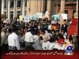 Maulana Fazlur Rehman says Hamid Mir attack shocking, banning Geo will be a mistake