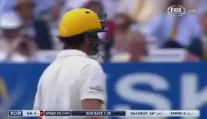 Watch another masterclass from Adam Gilchrist and then see how the King of Spin, Saeed Ajmal, takes care of Gilchrist