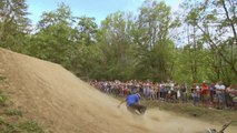 Mountain bike and BMX dirt jumping contest - Red Bull Wild Ride