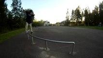 fs boardslide C rail haha