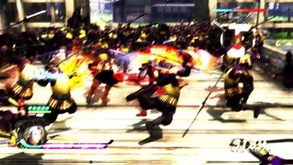 Trailer version PS4 de Samurai Warriors 4