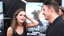 "Keri Russell Stars in the Summer Blockbuster ""Dawn of the Planet of the Apes"""