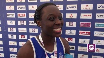 Myriam Soumaré : « Super contente »