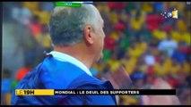 Les supporters brésiliens dépités !