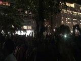 Les supporters argentins enflamment Copacabana avant la finale