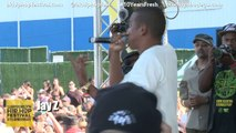 Jay Z and Jay Electronica Rock The Brooklyn Hip-Hop Festival