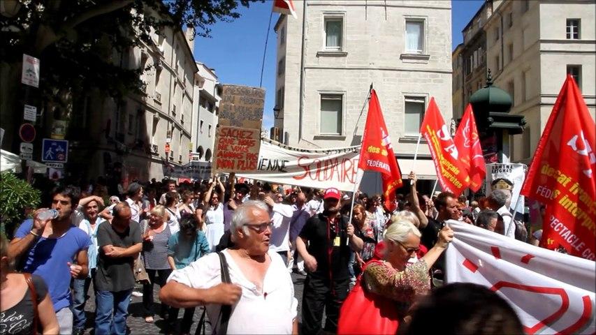 Intermittents d'Avignon 2014