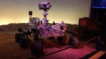 Curiosity robot cite de l espace planète mars Toulouse