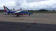 Défilé de la Patrouille de France pour les 100 ans de l'aéroport du Bourget