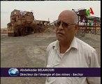 Algerie,mines,decouvertes de mines de cuivre et de manganese