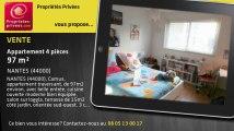 A vendre - appartement - NANTES (44000) - 4 pièces - 97m²