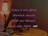 Sherlock Holmes - générique Karaoke instrumental