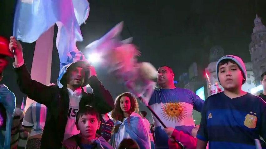 Mondial: tristesse, joie et violence à Buenos Aires