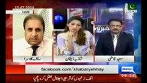 [MEDIUM] Rauf Klasra If Nawaz Sharif was not part of Musharraf deal then why PML-N ministers took oath from Musharraf when he was president.
