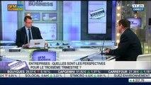 Lecture des premiers chiffres générés par les fonds des entreprises: Marc Riez, dans Intégrale Placements – 14/07 2/2