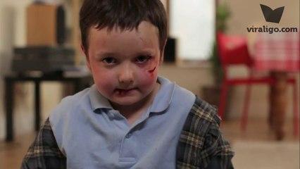 Çocuk Şiddetine Dur Deme Zamanı! - lütfen bu çocuğa bir kulak verin..