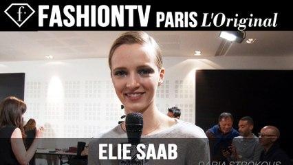 Elie Saab Couture Backstage ft Yumi Lambert, Tom Pecheux | Paris Couture FW Fall 2014 | FashionTV