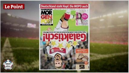 Une victoire trop arosée pour la presse allemande ?