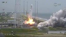 Lancement vers l'ISS de la capsule Cygnus de la société Orbital