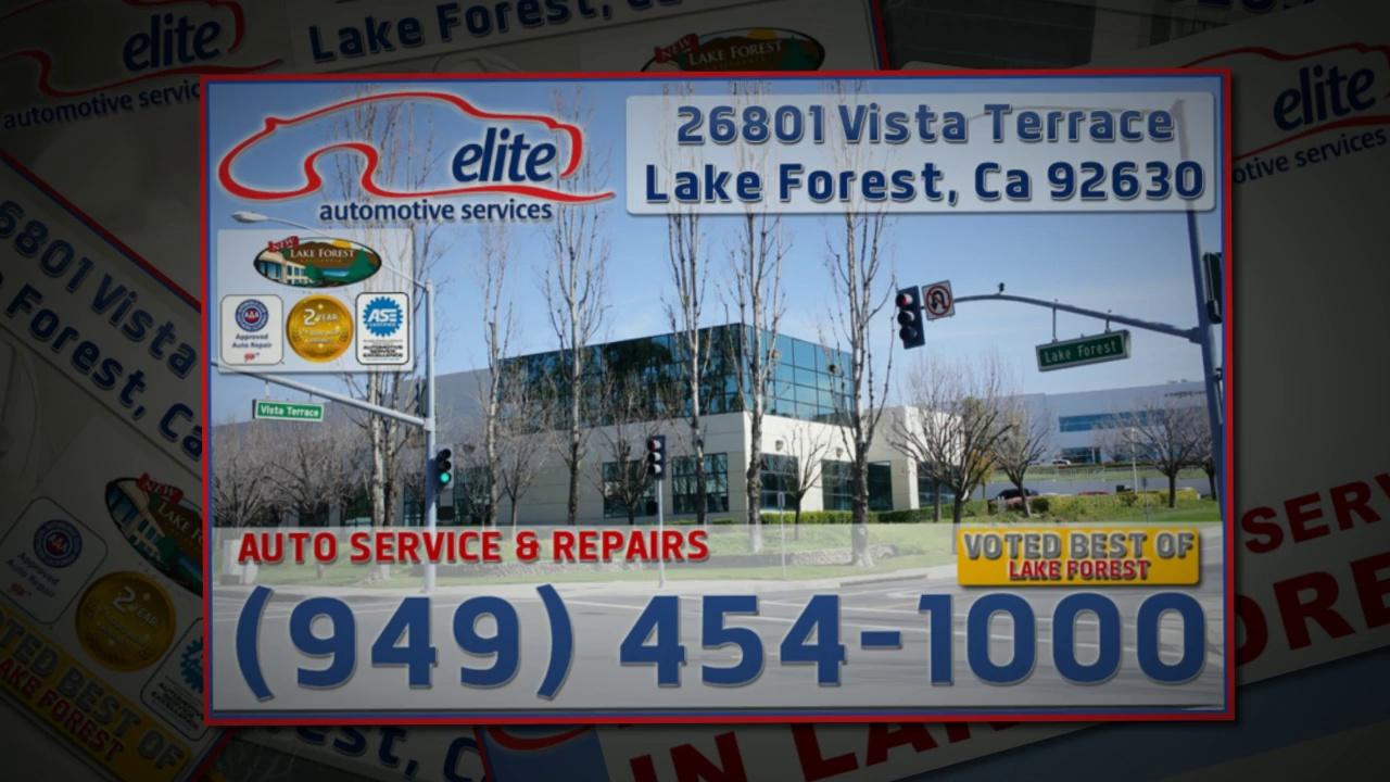 Car Repairs Lake Forest   Repair Car Lake Forest CA