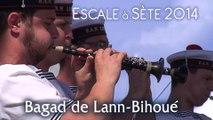 """Escale à Sète 2014 : Bagad de Lann-Bihoué  1' 20"""""""