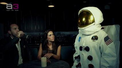 Spaceman In A Restaurant!