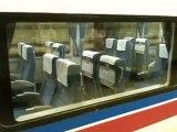Des sièges automatiques dans les trains japonais! High tech...