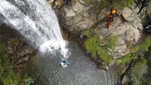 Canyoning Vallorcine Barberine Aiguilles Rouges Chamonix Mont-Blanc