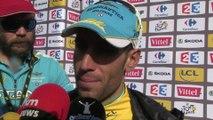 """Tour de France 2014 - Etape 10 - Vincenzo Nibali : """"Triste pour Contador et Froome"""""""
