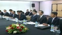 PM Narendra Modi meets Chinese President Xi Jinping in Brazil for the BRICS summit 2014