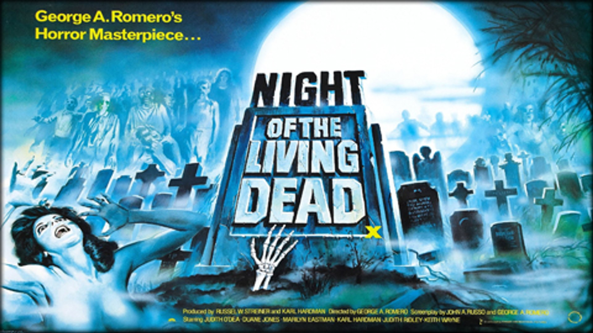Night Of The Living Dead 1968 George Romero Directed Feature Horror