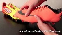 Nike Mercurial Vapor VIII VS Adidas F50 adizero miCoach - Comparison 2 - 720p