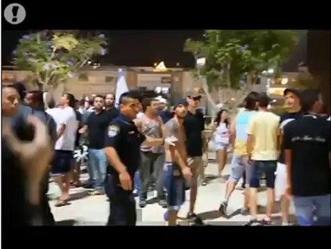 Tel-Aviv : Une manifestation contre l'opération à Gaza dégénère en affrontements !