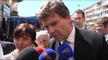 Vacances 2014 contre les fraudes: Visite d'Arnaud Montebourg