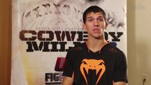 Alex White on winning first UFC fight, taking on Lucas Martins