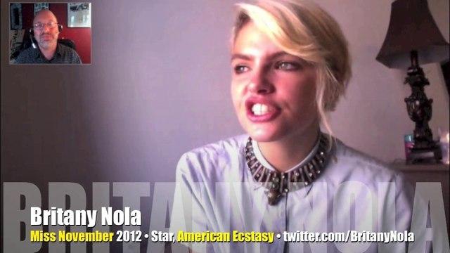 INTERVIEW: Playboy Magazine's Miss November 2012 Britany Nola!