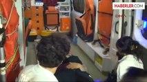 Konya'da Triportör ile Motosikletin Çarpışması Sonucu 3 Kişi Yaralandı.