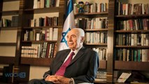 Israel's Peres Defends Airstrikes